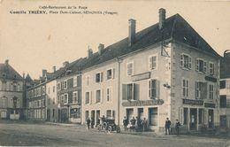 88) SENONES : Café-restaurant De La Poste - Camille THIERY, Place Dom Calmet (1916) Feldpost (AW) - Senones