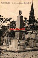 Flesselles - Le Monument Aux Morts - France