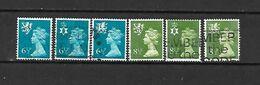 1976 - GRAN BRETAGNA - N. 774/79-780/85-790/93-794-795/98-799/802-803/06-807/10-813/16 USATI (CAT UNIFICATO) - Used Stamps