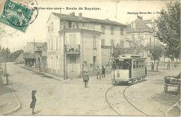 CPA 83 LA SEYNE SUR MER / ROUTE DE REYNIER - La Seyne-sur-Mer