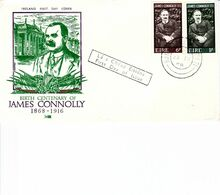 IRELAND 1968 JAMES CONNOLLY  FDC - Lettres & Documents