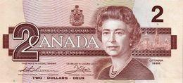 Canada P.94b  2 Dollars 1986  Unc - Canada