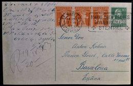 397 SWITZERLAND HELVETIA SUISSE SUIZA 1923 POSTAL STATIONERY ENTIER ST GALLEN - Postwaardestukken