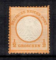 Allemagne/Reich YT N° 3A Neuf *. Gomme D'origine. A Saisir! - Allemagne