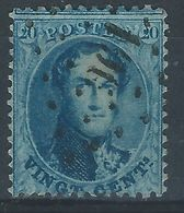 UU-/-158.- N°15A, Obl. , DENT 12 ½  - Cote 5.00 € , SANS FILIGRANE -  TB - IMAGE DU VERSO SUR DEMANDE - 1863-1864 Medallions (13/16)