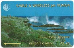 Tonga - Blow-Wholes, Houma, 1CTGC, 1994, 5.000ex, Used - Tonga