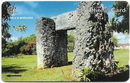 Tonga - Ha'Amonga, 323CTDG, 1999, 12.000ex, Used - Tonga