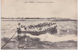 Bv - Cpa LORIENT  - Le Bataillon Au Retour De Gâvres - Lorient