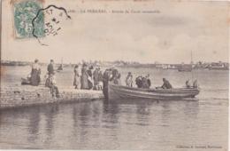 Bv - Cpa LORIENT  - LA PERRIERE - Arrivée Du Canot Automobile - Lorient