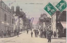 Bv - Cpa LORIENT - La Rue Carnot (Tabac, Coiffeur) - Lorient