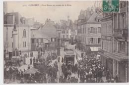 Bv - Cpa LORIENT  - Place Bisson Et Entrée De La Bôve - Lorient