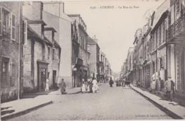 Bv - Cpa LORIENT - La Rue Du Port - Lorient