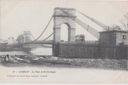 Bv - Cpa LORIENT - Le Pont De St Christophe (avec Le Tramway) - Lorient