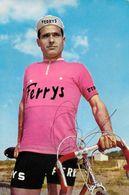 CARTE CYCLISME GABRIEL MAS SIGNEE TEAM FERRYS 1963 - Cyclisme