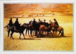 Afghanistan Partie Du Buz Kaschi   Ouzbeks Sublimés Par Kessel Dans Les Cavaliers    Années 1980s - Afghanistan