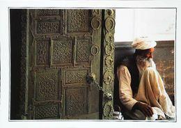 Afghanistan Ghazni Mausolée De Mahmoud  Homme Thé    Années 1980s - Afghanistan