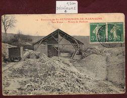 Saint-Symphorien-de-Marmagne - Les Riaux - Mines De Radium - Mine Minerai * Saint Symphorien De Marmagne 71710 - France