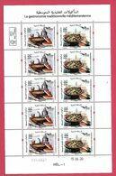 Maroc / Morocco 2020 - Euromed Postal - La Gastronomie Traditionnelle Méditérranéénne - 10 Timbres Neufs** MNH - Morocco (1956-...)