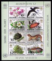 DPRK (North) Korea 1992 / World Environment Day - Flora And Fauna, Saving Our Planet / MNH Mi 3346-3353 - Korea (Nord-)