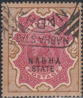 Nabha, Scott #22, Used, Queen Victoria Overprinted, Issued 1885 - Nabha