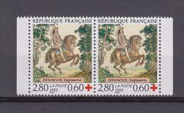 Timbre-poste Surtaxé Neuf** - Au Profit De La Croix-Rouge Tapisserie De Saumur - N° 2946 (Yvert) - France 1995 - Ongebruikt