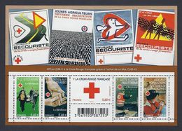 2011 - Bloc Feuillet F4621 CROIX - ROUGE  Bénévolat  N° 4621 NEUF** LUXE MNH - Neufs