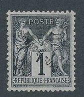 DS-81: FRANCE: Lot Avec N°83 NSG Surchargé GUADELOUPE (essai Ou Autre ?) - 1876-1898 Sage (Type II)