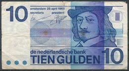 °°° NETHERLANDS - 10 GULDEN 1968 °°° - [2] 1815-… : Koninkrijk Der Verenigde Nederlanden