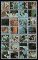 Umm Al-Qiwain 1972 Mi# 859-886 A Used - Block Of 28 (4 X 7) - Space Research - Umm Al-Qiwain