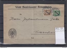 Deutsche Reich Michel Kat,Nr. Dienst 105/106 MiF - Dienstpost
