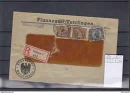 Deutsche Reich Michel Kat,Nr. Dienst Brief 33 MiF - Dienstpost