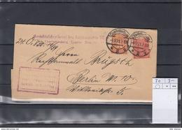Deutsche Reich Michel Kat,Nr. Dienst Brief 30 MiF - Dienstpost