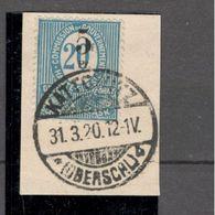 OBERSCHLESIEN....1920:  Michel10  Used On Piece - Sonstige