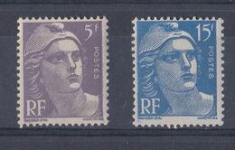 FRANCE   Y&T N ° 883 Et 886   NEUF **  Sans Trace De Charniere - 1945-54 Marianne (Gandon)