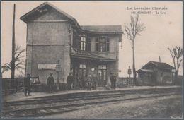 Agincourt , La Gare , Animée - Francia