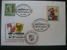 Österreich 1999- Sonderbeleg Zur Eröffnung Des Neuen Feuerwehrzentrums Kirchdorf Mit Mi.Nr. 2251 - 1991-00 Covers