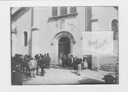SAINT COLOMBAN DES VILLARDS 73 Sortie Messe  Photo Originale 1905 - Orte