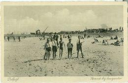 Delfzijl 1938; Strand Bij Laagwater - Gelopen. (E. Krol - Delfzijl) - Delfzijl