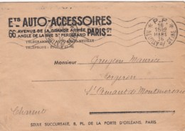Cachet Port-Payé Neuilly-sur-Seine - Poststempel (Briefe)
