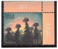 Latvia 2014 .Singing Trees. 1v: 0.50.    Michel # 927 - Letland