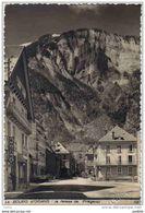 Carte Postale 38. Bourg-d'Oisans  Photographe Kodaks  La Falaise De Prégentil Trés Beau Plan - Bourg-d'Oisans