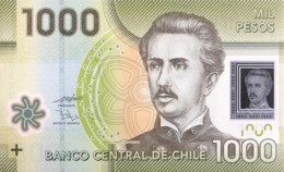 Chile 1.000 Pesos, P-161b (2011) - UNC - Cile
