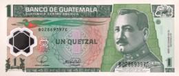 Guatemala 1 Quetzal, P-115a (12.3.2008) - UNC - Guatemala