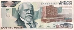 Mexico 2.000 Pesos, P-86a (19.7.1985) - UNC - Serie AQ - Mexique