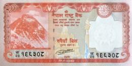 Nepal 20 Rupees, P-78 (2016) - UNC - Nepal