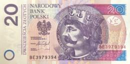 Poland 20 Zloty, P-174b (15.9.2016) - UNC - Polen
