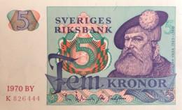 Sweden 5 Kroner, P-51b (1970) - UNC - Svezia