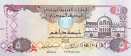 United Arab Emirates 5 Dirhams, P-26 (2016) - UNC - Ver. Arab. Emirate
