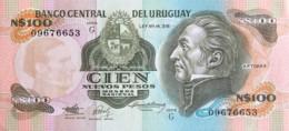 Uruguay 100 Nuevos Pesos, P-62A (1987) - UNC - Uruguay