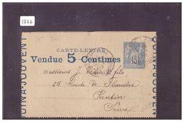 FRANCE - CARTE LETTRE PUBLICITAIRE  ENTIER POSTAL - GANZSACHE - Cartoline-lettere